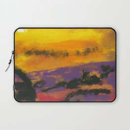 Stagecoach in the Sky Laptop Sleeve