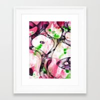 soul Framed Art Prints featuring Soul by SensualPatterns
