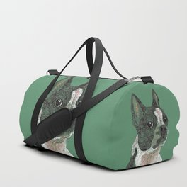 Boston Terrier Duffle Bag