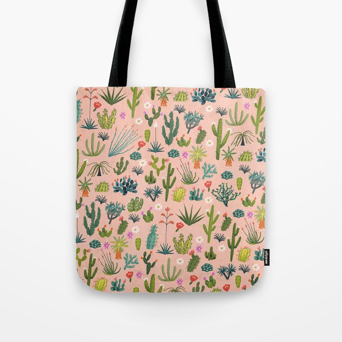 Arizona Cacti Tote Bag
