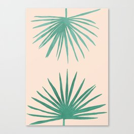 Petticoat Palms Canvas Print