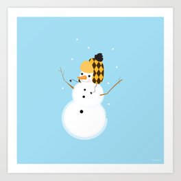 Stay Frosty Art Print