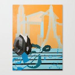 Music to My Head Canvas Print