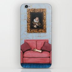 Portrait of a Stymied Lady and her Dog iPhone & iPod Skin