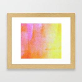 Highlighter Framed Art Print