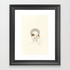 Give Me Your Eyes Framed Art Print