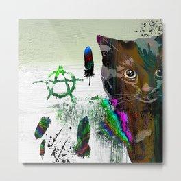 Cat №2 Metal Print