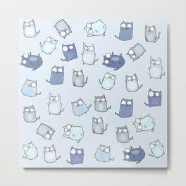 Cute Cats! Metal Print