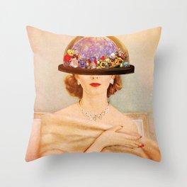 Aura Cleanse Throw Pillow