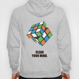 Lab No. 4 - Clear Your Mind Corporate Startup Quotes Hoody