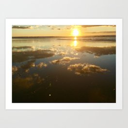 Reflection of Pismo Skies Art Print