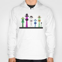 giraffes Hoodies featuring Giraffes by jozi.art