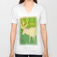merry christmas V-neck T-shirts featuring Merry Christmas by Laake-Photos