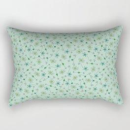 Types of Neurons on Mint Rectangular Pillow
