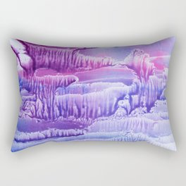 blue underwater world 2 Rectangular Pillow