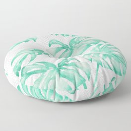 city leaf Floor Pillow