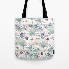 Sea floral print Tote Bag