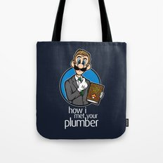 How I Met Your Plumber Tote Bag