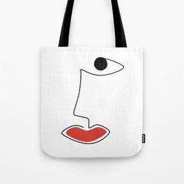 Bold Smile Tote Bag