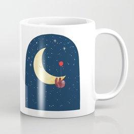 Sloth with the Moon Coffee Mug