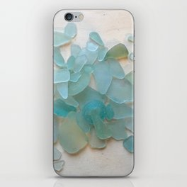 Ocean Hue Sea Glass iPhone Skin