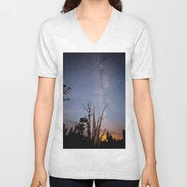 Midnight City Unisex V-Neck