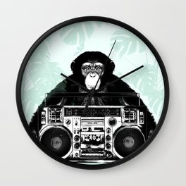 Jungle Music 02 Wall Clock