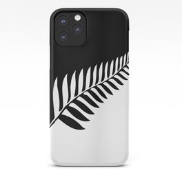 Silver Fern of New Zealand iPhone Case