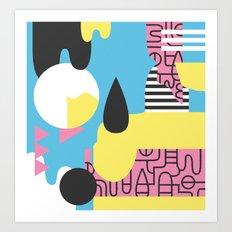 Flumesia Art Print
