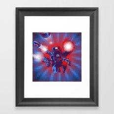 Action Hero Framed Art Print