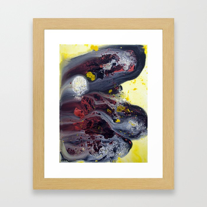 Over the Counter Framed Art Print