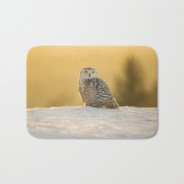 Snowy Owl Bath Mat