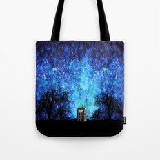 Lonely Tardis Doctor who Art painting iPhone 4 4s 5 5c 6, pillow case, mugs and tshirt Tote Bag