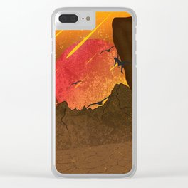 When The Red Moon Appears Clear iPhone Case