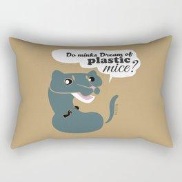 Do mink dreams... (c) 2017 Rectangular Pillow