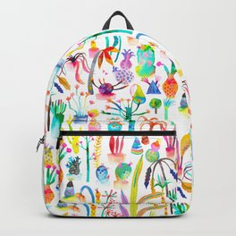 Lush garden - Dreamy cacti plants Backpack