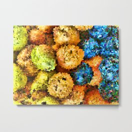 crystallized fruits Metal Print