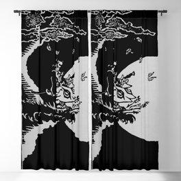 The Samurai and the Leaf Blackout Curtain