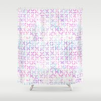 amelie Shower Curtains featuring Amelie #3A by Schatzi Brown