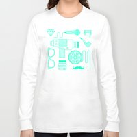 movie posters Long Sleeve T-shirts featuring Movie by cyrixDesign