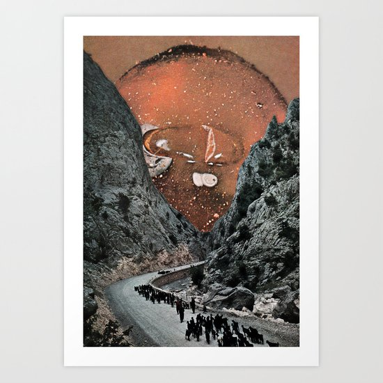 Hot On The Trail Art Print