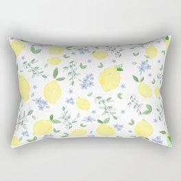 Fresh Lemon Serenade Rectangular Pillow