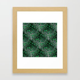 The Snowy Forest.... Framed Art Print