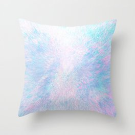 Snow Motion Throw Pillow