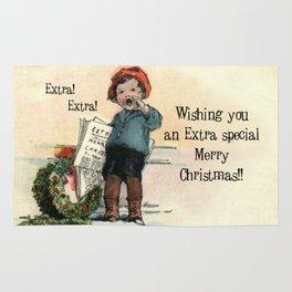 Extra! Extra!  Merry Christmas.... Rug