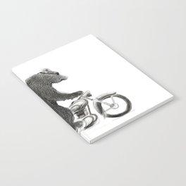 Motorcycle Bear Notebook