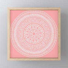 Summer Mandala Framed Mini Art Print