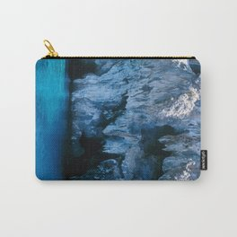 NATURE'S WONDER #3 - BLUE GROTTO #art #society6 Carry-All Pouch