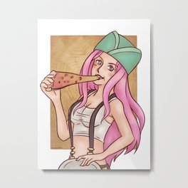 Jewelry Bonney of One Piece Metal Print