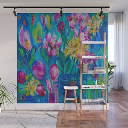 A Dreamer's Garden Wall Mural